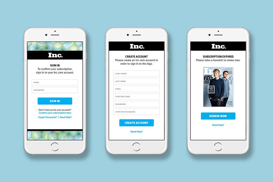 inc-app-verification-screens
